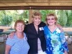 They don't look like they graduated 52 years ago.  Bev Burner Randazzo, Barbara Padula Speziale, Gloria Roome Pezzuti